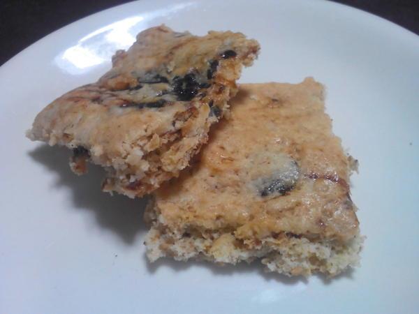 プルーンで作ったクッキー