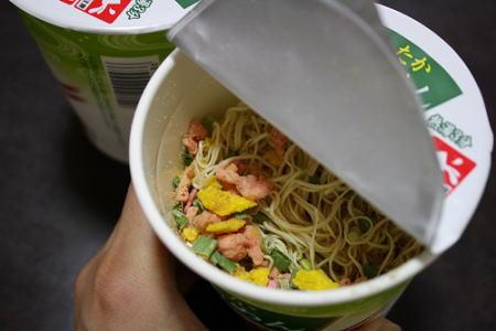 カップ麺の中身