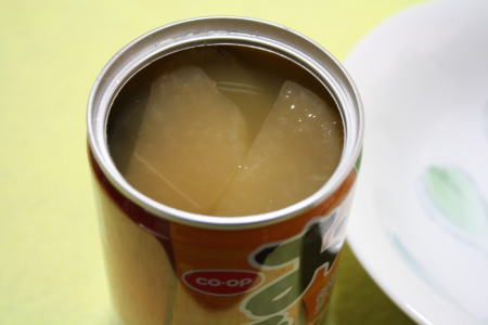 缶を開けてみました