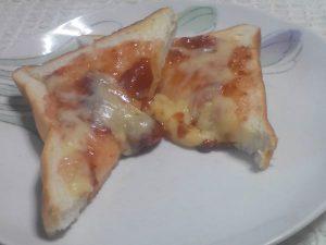 紅ほっぺの苺ジャムととろけるチーズ