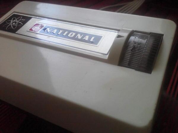電気敷毛布のコントローラー