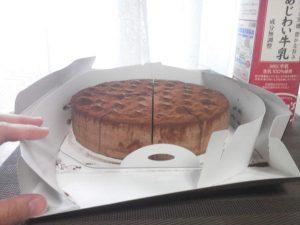 ショコラケーキ 中身