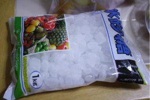 クリスタルの氷砂糖